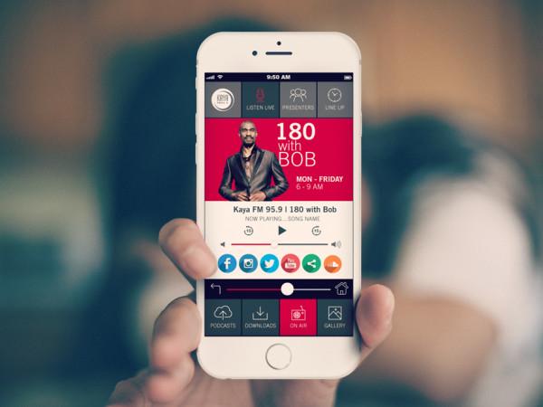 <span>Kaya FM App</span><i>→</i>
